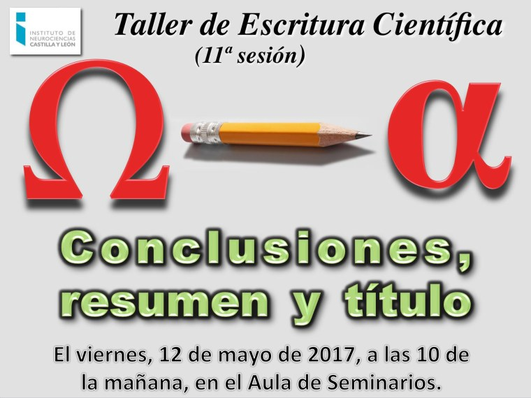 Taller 2016-17 Sesión 11 Cartel