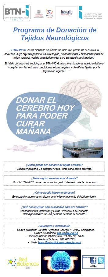 Programa de Donación de Tejidos Neurológicos