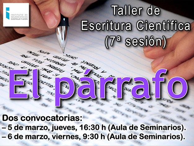 Taller 19-20 Sesión 7 (El párrafo) Portada small