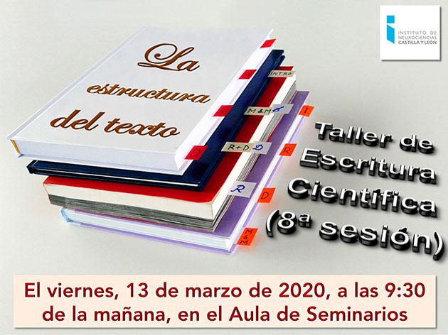 Taller 19-20 Sesión 8 (Estructura del texto) Portada Small